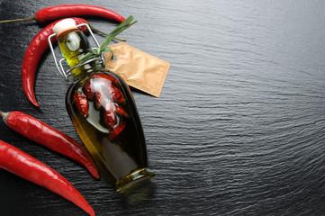 Canvas Prints Hot chili peppers Pimienta roja Cayenne pepper Cayenna peperoncino Guinea spice red Oil hot chili פלפל קאיין Pieprz Перец кайенский فليفلة حريفة Cayennepeppar Brandrissie Cayenne-i bors de Cayena Cayennepfeffer 카옌 고추