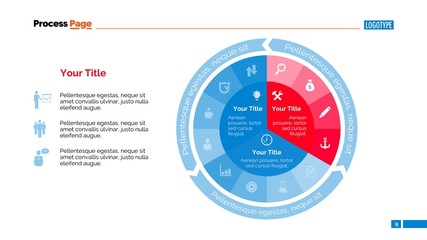 Pie Diagram Slide Template
