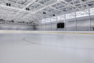 Indoor ice hockey rink