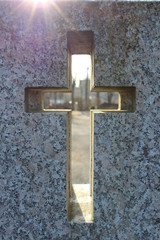 Der Blick durchs Kreuz