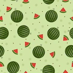 Watermelon seamless wallpaper