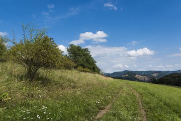 Ceske Stredohori mountains near Radejcin