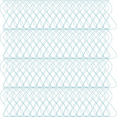 Template with guilloche pattern (watermarks) and border. This background design usable for gift voucher, coupon, banknote, certificate, diploma, check, currency etc. Vector illustration,