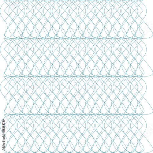 Template with guilloche pattern (watermarks) and border. This ...