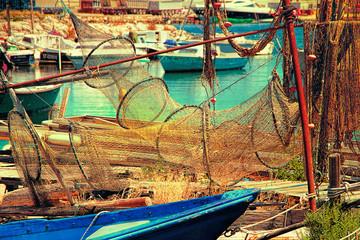 Sete, Herault, France : La Pointe Courte - A Fishermen's distr