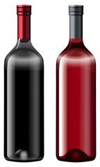 Two bottles fo wine
