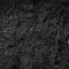 Black stone background texture, cracked texture used design for