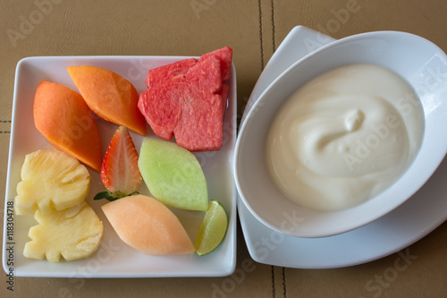 healthy fruit dishes fruit slice