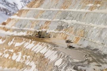 The Los Pelambres copper mine
