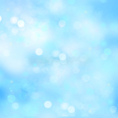 Blue abstract background blur