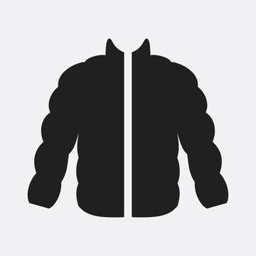 Jacket icon illustration