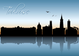 Toulouse skyline