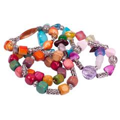 Handmade bracelets from Bali island