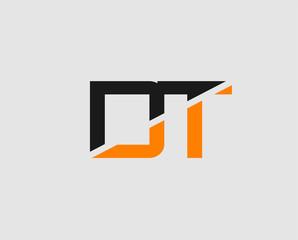 Letter DT Logo