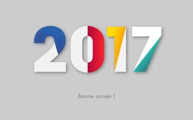 Bonne année 2017 Fototapete