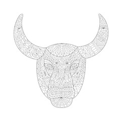 Taurus - Coloring for Adults