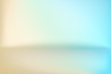 Background Studio Horizon Cool To Gold Vector