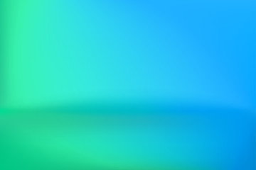 Background Studio Horizon Green Blue Vector