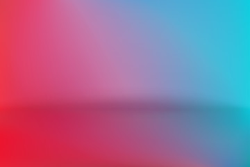 Background Studio Horizon Red Blue Vector