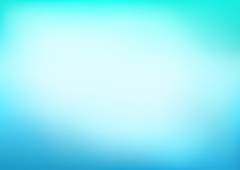 Abstract Blue Cyan Blurred Vector Background