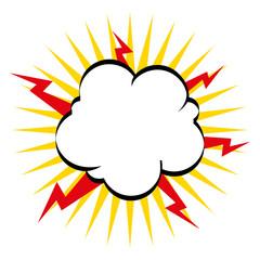boom explosion pop art
