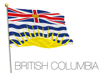 British Columbia flag, Canada
