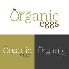 Farm Fresh Organic Eggs Logo