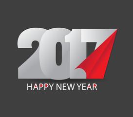 Happy new year 2017. Happy holidays background