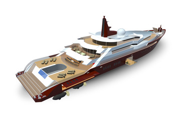 Presentacion Crucero de Lujo modelo infografia