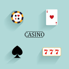 Abstract Casino Objects