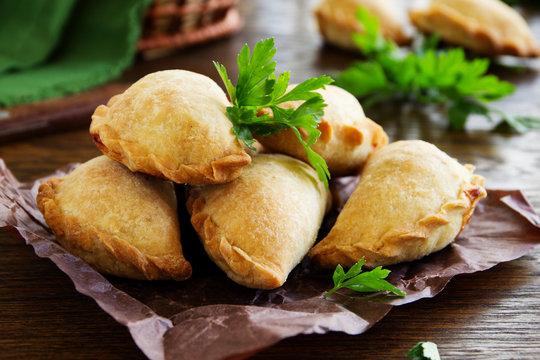 empanadas - Argentine fried meat pies.