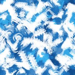 Art splash brush strokes paint abstract seamless print