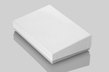 White Board Product Packaging Box for Mockups