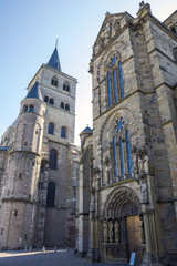 The High Cathedral of Saint Peter in Trier or Cathedral of Trier