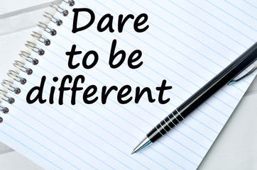 Dare to be different on notebook