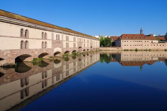 Barrage Vauban in Strassburg - Barrage Vauban in Strasbourg, Alsace