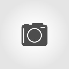 Camera icon symbol for websites and apps