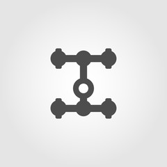 Auto transmission icon for websites and apps