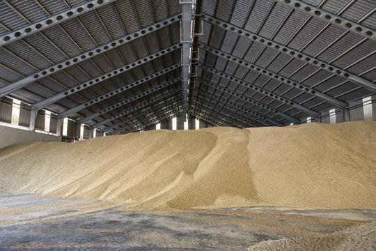 Almacén de grano y cereales