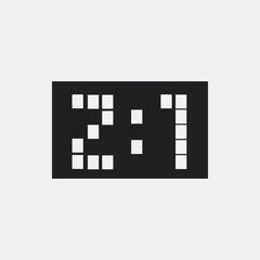 Score icon illustration