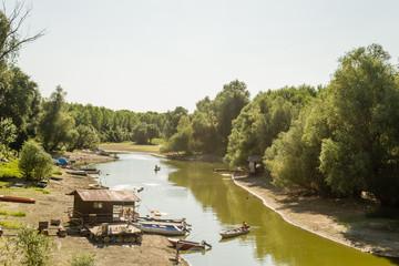 branch of the Danube River
