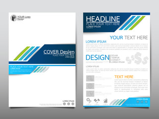 Blue technology cover business brochure vector design, Leaflet advertising abstract background, Modern poster magazine layout template, Annual report for presentation.
