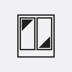 Window icon illustration