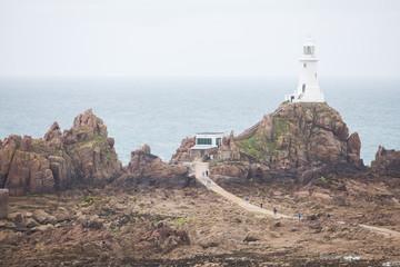 Jersey island lighthouse