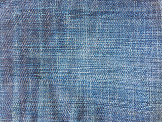 Close up blue jeans background and texture