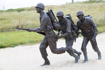 Soldiers in Utah Beach