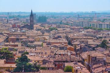 VERONA, ITALY - JULY, 2, 2016: Panorama of Verona, Italy