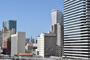 Miami downtown, U.S.A.