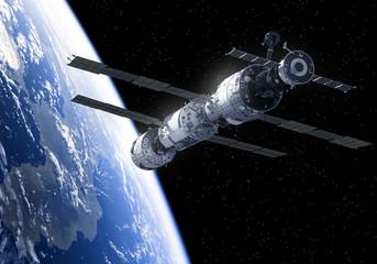 Obraz International Space Station In Space - fototapety do salonu