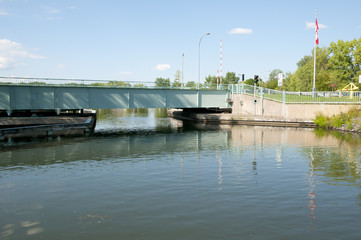 Chambly Canal - Quebec - Canada